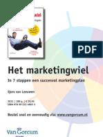 Het Marketingwiel - Marketing voor ondernemers - Boekimpressie