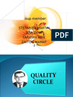 Total Quality Management -Quality Circle