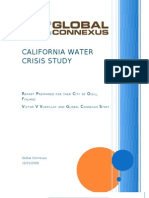 California Water Crisis Study Report