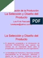 UAA AOdP 2011 Unidad 01 Producto la Selección y Diseño del Producto