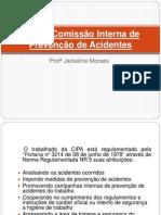 CIPA – Comissão Interna de Prevenção de Acidentes aula6