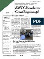 Newsletter Spring 2013 Vol 1