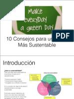 10 Consejos Para Una Vida Mas Sustentable