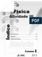 Caderno 01 Fisica Atividade III