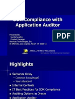 SOX Compliance a Practical Approach to App Auditor[1]