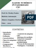 Apresentação-CNC Automação