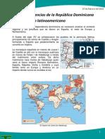 Las independencias de la República Dominicana en el contexto latinoamericano
