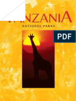 Tanzania National Parks Brochures