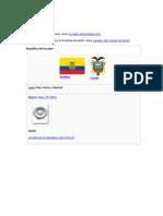 La Historia Del Ecuador