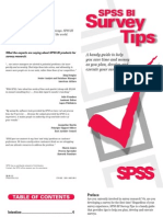 SurveyTips Booklet