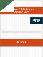 PLACAS Y MUROS DE CONTENCIÓN