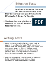 Writing Effective Tests