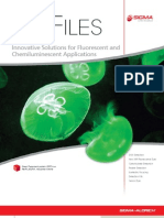 Innovative Solutions for Fluorescent and Chemiluminescent Applications - BioFiles Issue 4.1