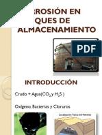 CORROSIÓN EN TANQUES DE ALMACENAMIENTO Y  DUCTOS