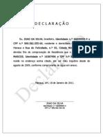 Modelo Declaracao de Residencia (1)