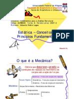 7 - Estatica - Conceitos e Principios Fundamentais