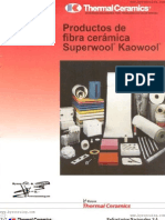 Productos de Fibra Ceramica Superwool Kaowool
