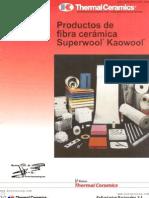 Productos de Fibra Ceramica Superwool Kaowool