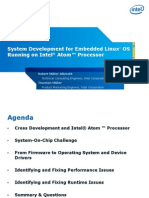 System Development Embedded Linux Atom