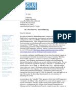 ACLU letter to Gov. Mifflin School District