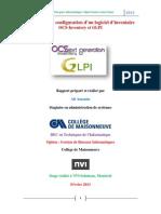 Installation Et Configuration de GLPI Et OCS