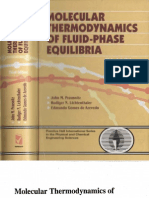 Molecular Thermodynamics of Fluid Phase Equilibria 3Ed