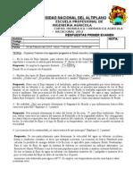 Respuestas a Primer Examen Vacacional -2012
