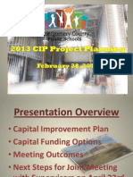 Montgomery County (Va.) Schools 2013 CIP Project Planning