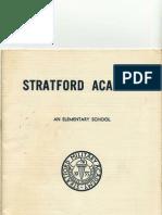 Stratford Catalog Outside Cover