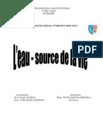 L'Eau - Source de La Vie
