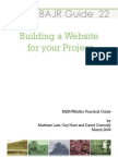 BAJR Guide 22 Website Building for Archaeology Projects