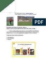 Esempio di esercitazione per la seduta di allenamento nei giovani calciatori