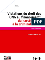 Rapport annuel 2013 de l'OBS