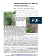 Friends of Cherry Hinton Brook; Titbits Newsletter