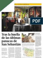 Tras la huella de las últimas panacas de San Sebastián