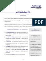 PKIX ActiveSign Arquitectura de Infraestructura de Llave Publica
