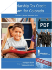 A Scholarship Tax Credit Program for Colorado