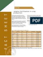 sulphur fertilization in crop production.pdf