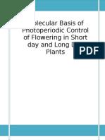 Molecular Basis of Flowering