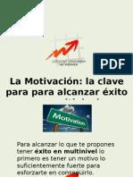 La Motivación clave en MLM.odp