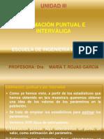ESTIMACIÓN PUNTUAL E INTERCALICA