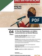 A Voz da População, as rádios comunitárias na Guiné-Bissau, 4 de Março  18h00 B204, Ed. II ISCTE-IUL