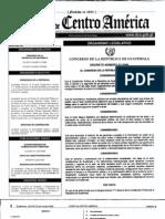 Decreto 57-2008. Ley de Acceso a la Información Pública