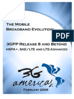 3GPP Release 8 And Beyond