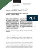 Argumentacion Persuasiva y Sintaxis en La Publicidad