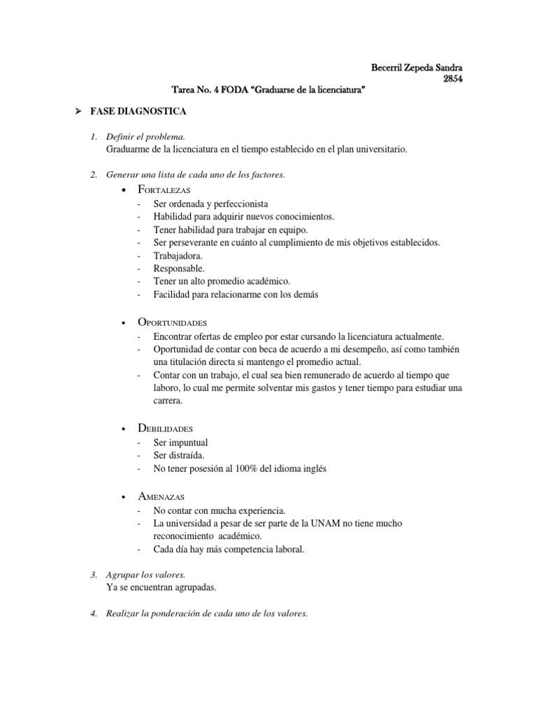 FODA Universitario