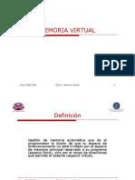 Tema 5 - Memoria Virtual