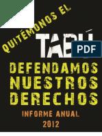 Informe Final UDEFEGUA 2012