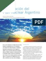 Reactivación del Plan Nuclear Argentino