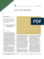 Finance and Monte Carlo Simulatin